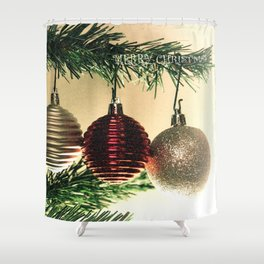 merry christmas vol 4 Shower Curtain