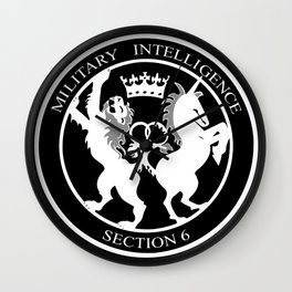 MI6 Logo Wall Clock