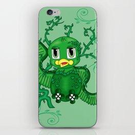 Poison Ivy Bird iPhone Skin