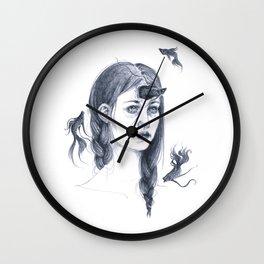 Doubts Wall Clock