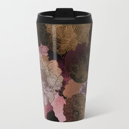 FLORAL PINKS Travel Mug