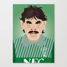 Big Neville Southall, Everton and Wales Greatest goalkeeper Canvas Print
