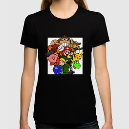 Super Smash 64 Roster T-shirt