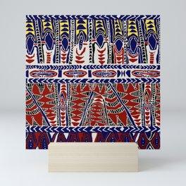 South Seas Samoa Batik Mini Art Print