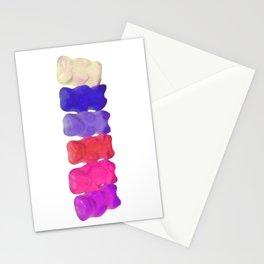 6 bears Stationery Cards