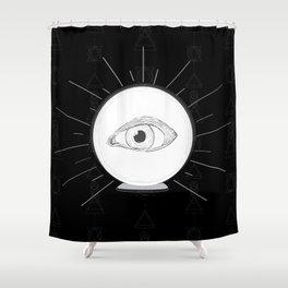 Fortune Eye Seer Shower Curtain