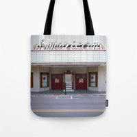 american Tote Bags featuring American by Jon Cain