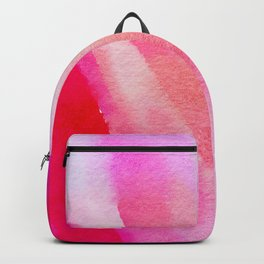 Paper-pink,red and blue Backpack