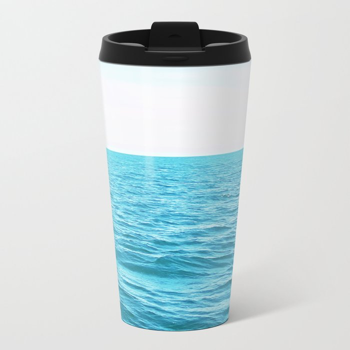 Oceana #society6 #decor #buyart Metal Travel Mug