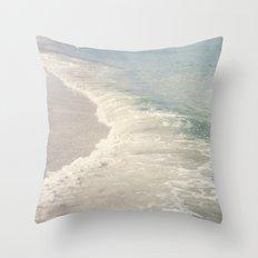Turquoise Seas Throw Pillow