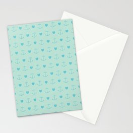Love Boat Pattern Stationery Cards