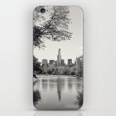 Central Park from Bow's Bridge iPhone & iPod Skin
