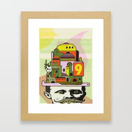 GLAD HATTER 1 Framed Art Print