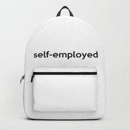 self-employed Backpack