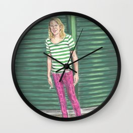 Ariel Pink: Hot Pink! Wall Clock