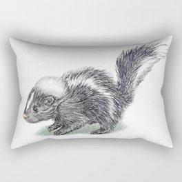 Baby Skunk Rectangular Pillow