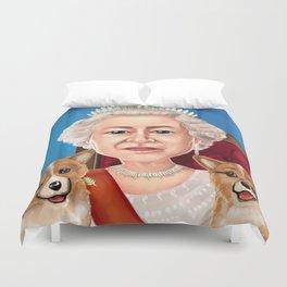 Queen Elizabeth II Duvet Cover