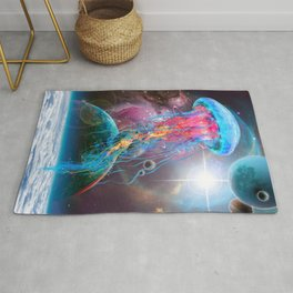Super Space Jellyfish Rug