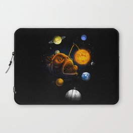 Cosmic Angler  Laptop Sleeve