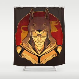 Vulpes Inculta Shower Curtain