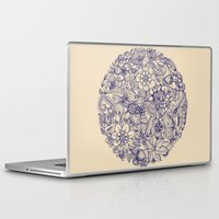 butterfly Laptop & iPad Skins featuring Circle of Friends by micklyn