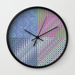 """9,534,358 + (Cos(x(-1))+x) × 949,456 [""""70s Pattern""""] Wall Clock"""