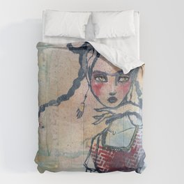 Frida is an Emotion by Jane Davenport Comforters