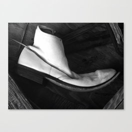 Lost Boot Canvas Print