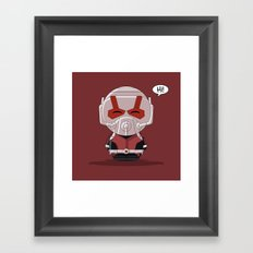 ChibizPop: Ant Framed Art Print