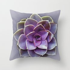 Painted Succulent Throw Pillow