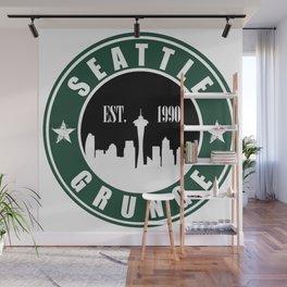 Seattle Grunge Wall Mural