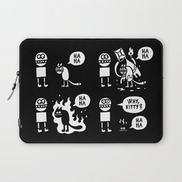 Why, Kitty? Laptop Sleeve