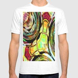 Abstract Tilt 'awhirl T-shirt