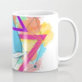 Blue Whale Design Coffee Mug