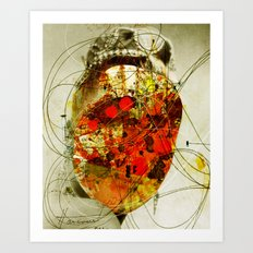 Abstract her Art Print