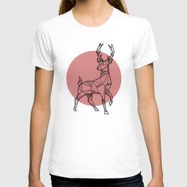 Deer - Geometric Animals T-shirt