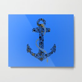 Anchor logo Metal Print