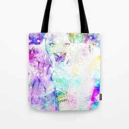 Girl bouquet Tote Bag