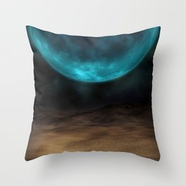 Planetary Visions Throw Pillow