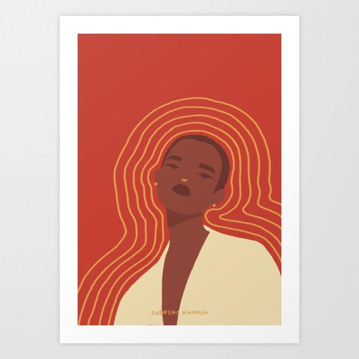 Emit Art Print