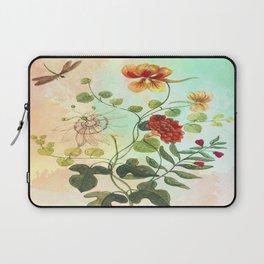 Simply Divine, Vintage Botanical Illustration Laptop Sleeve