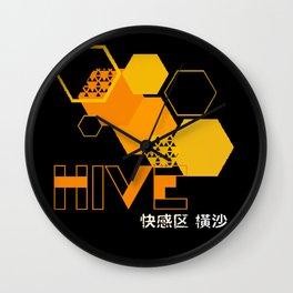 deus ex human evolution hive Wall Clock