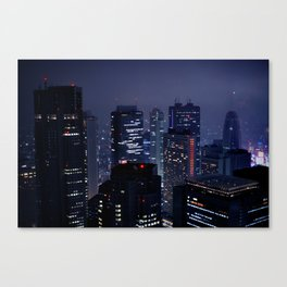 Lost in Translation - Tokyo Blues (II) Canvas Print