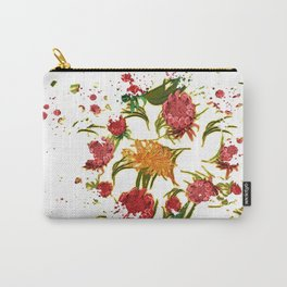 Beautiful Australian Native Floral Graphic Carry-All Pouch