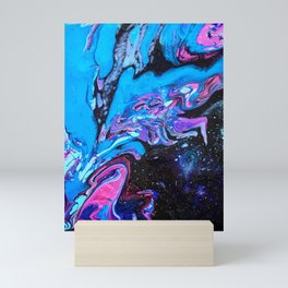 Cascade Blue Mini Art Print