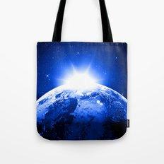 Sunny Earth Tote Bag