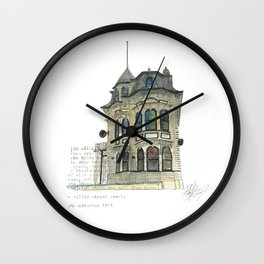 100 Willis Street Wall Clock