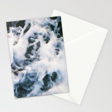Standing on the shoreline Stationery Cards