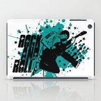 rock and roll iPad Cases featuring Rock & Roll by Chamber Decals