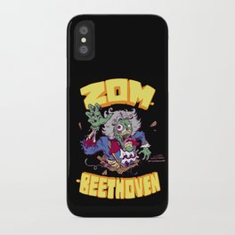 Zombeethoven iPhone Case